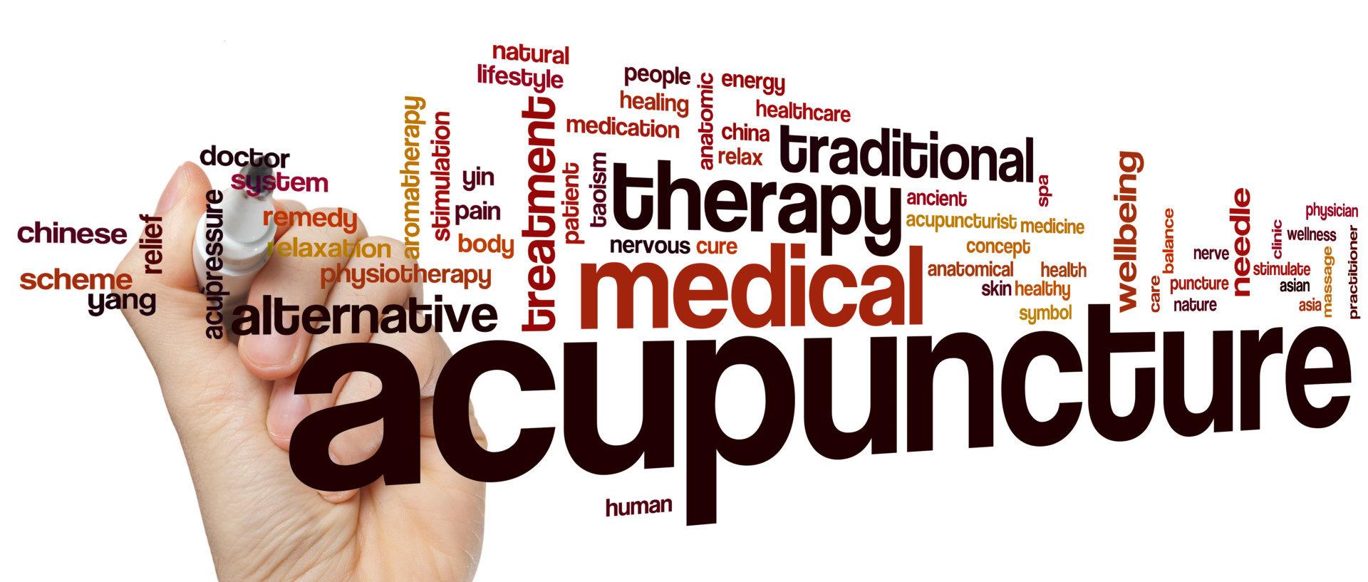 acupunture concept