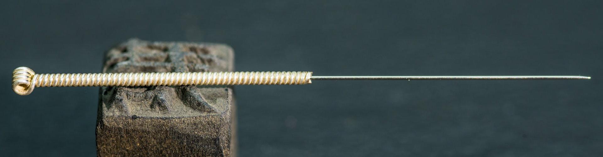 acupunture pin